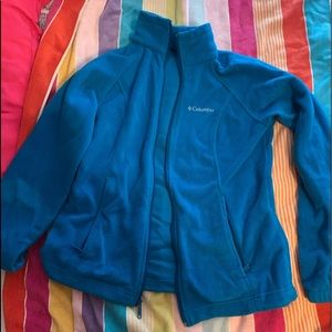 Colombia BARELY WORN BLUE JACKET